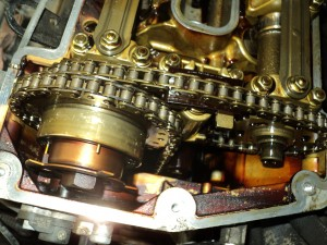Timing chain on a 740IL